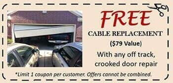 Houston Garage Door Cable Replacement Coupon