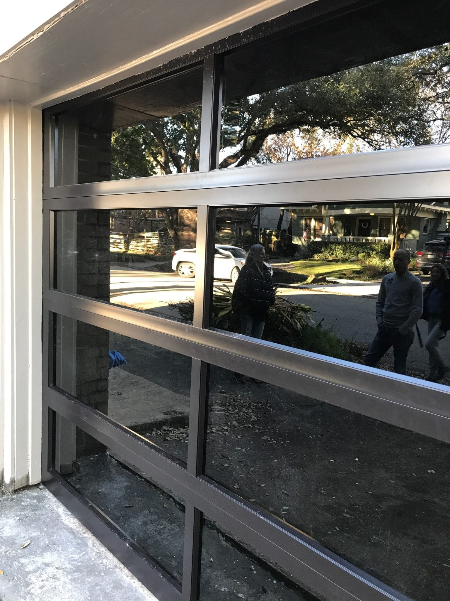 Full View Garage Door Installed in Houston