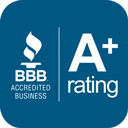 BBB of Houston's A+ Rating of our Service