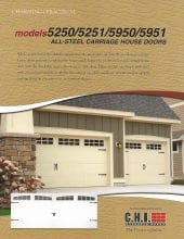 Carriage House Garage Door Service in Pecan Grove