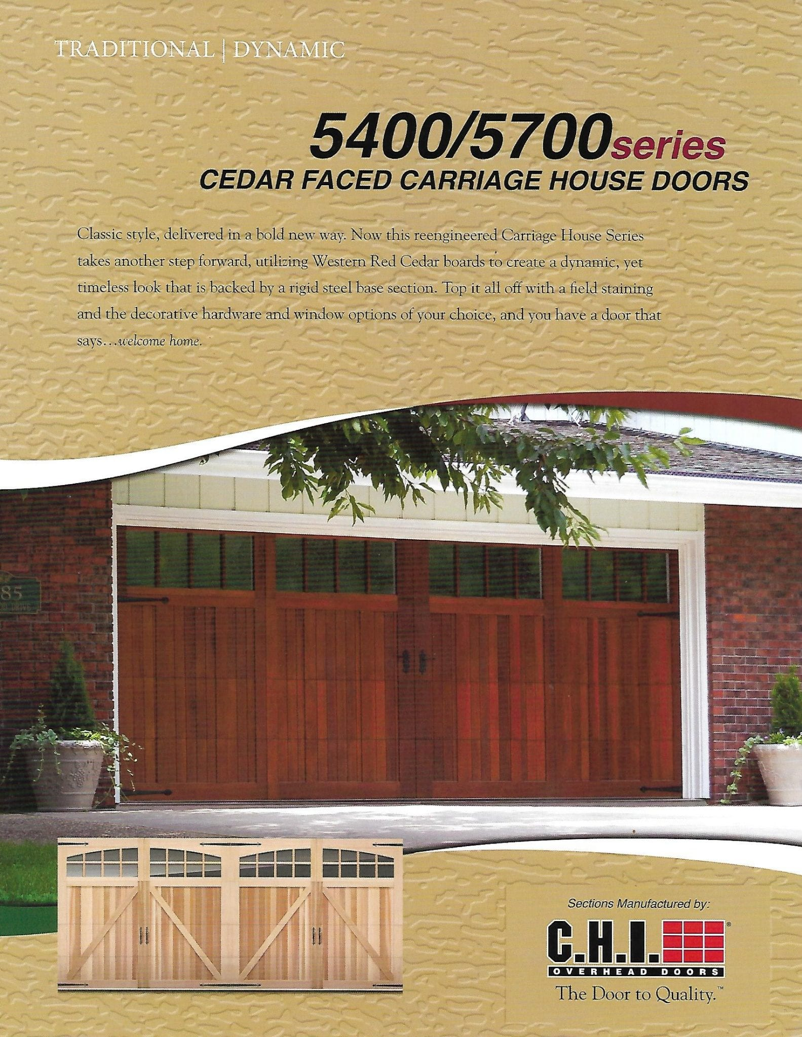 Wood Overlay Garage Door Service in Katy