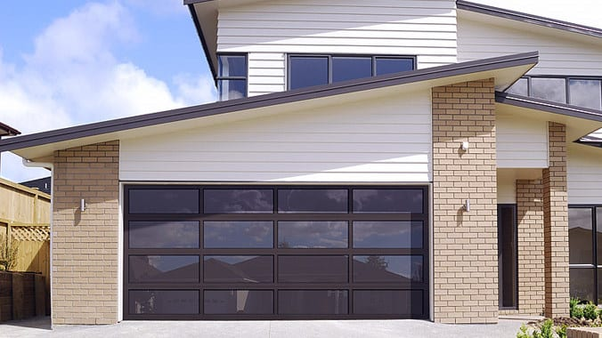 Full View Aluminum Garage Door