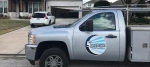 Houston Garage Door Repair Truck