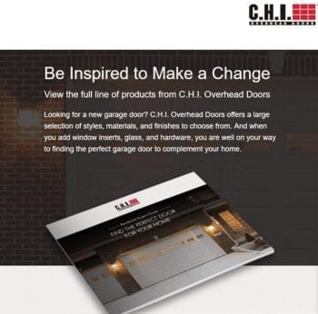 FREE CHI Product Garage Door Guide