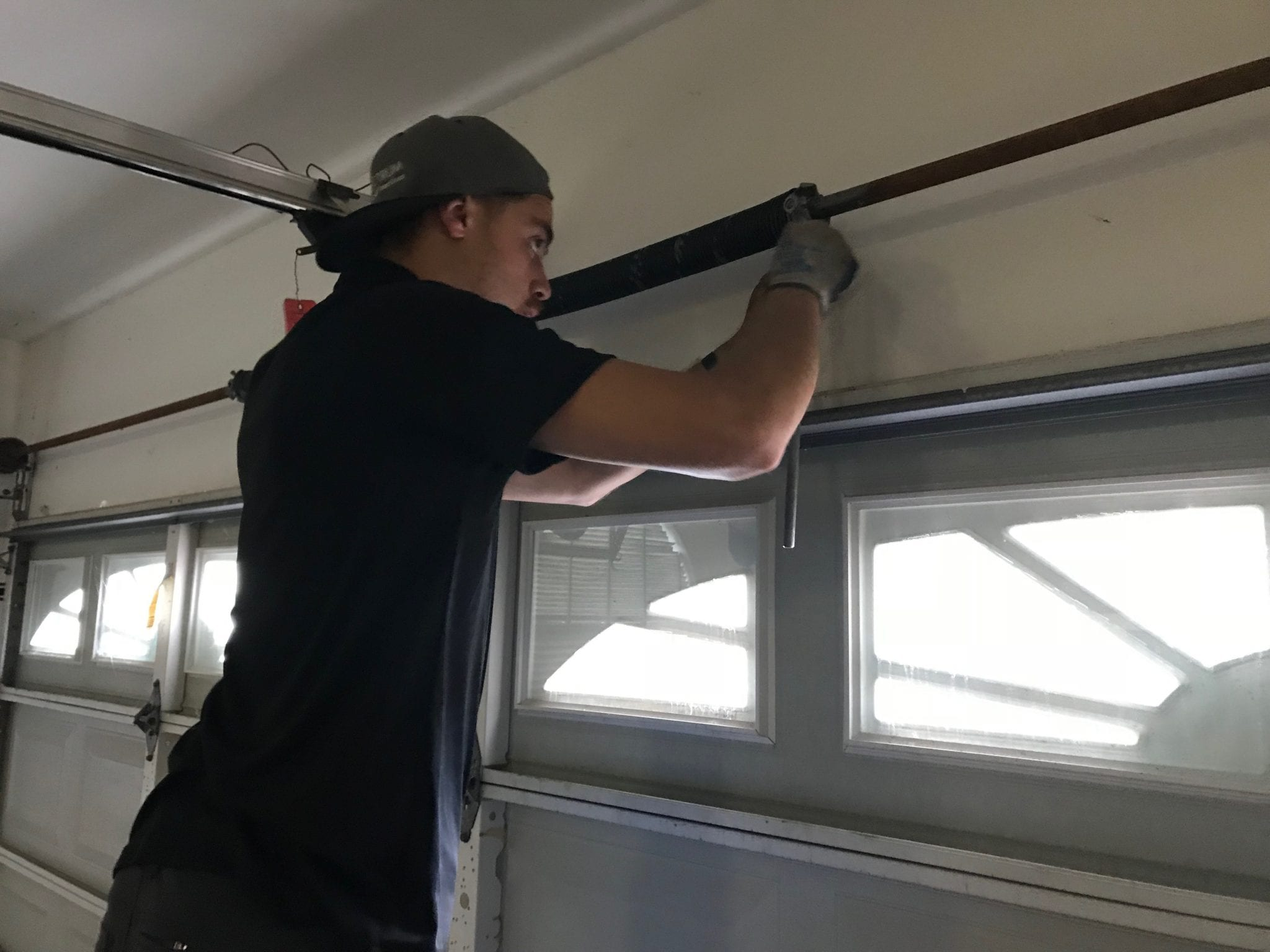Garage Door Spring Replacement in Katy