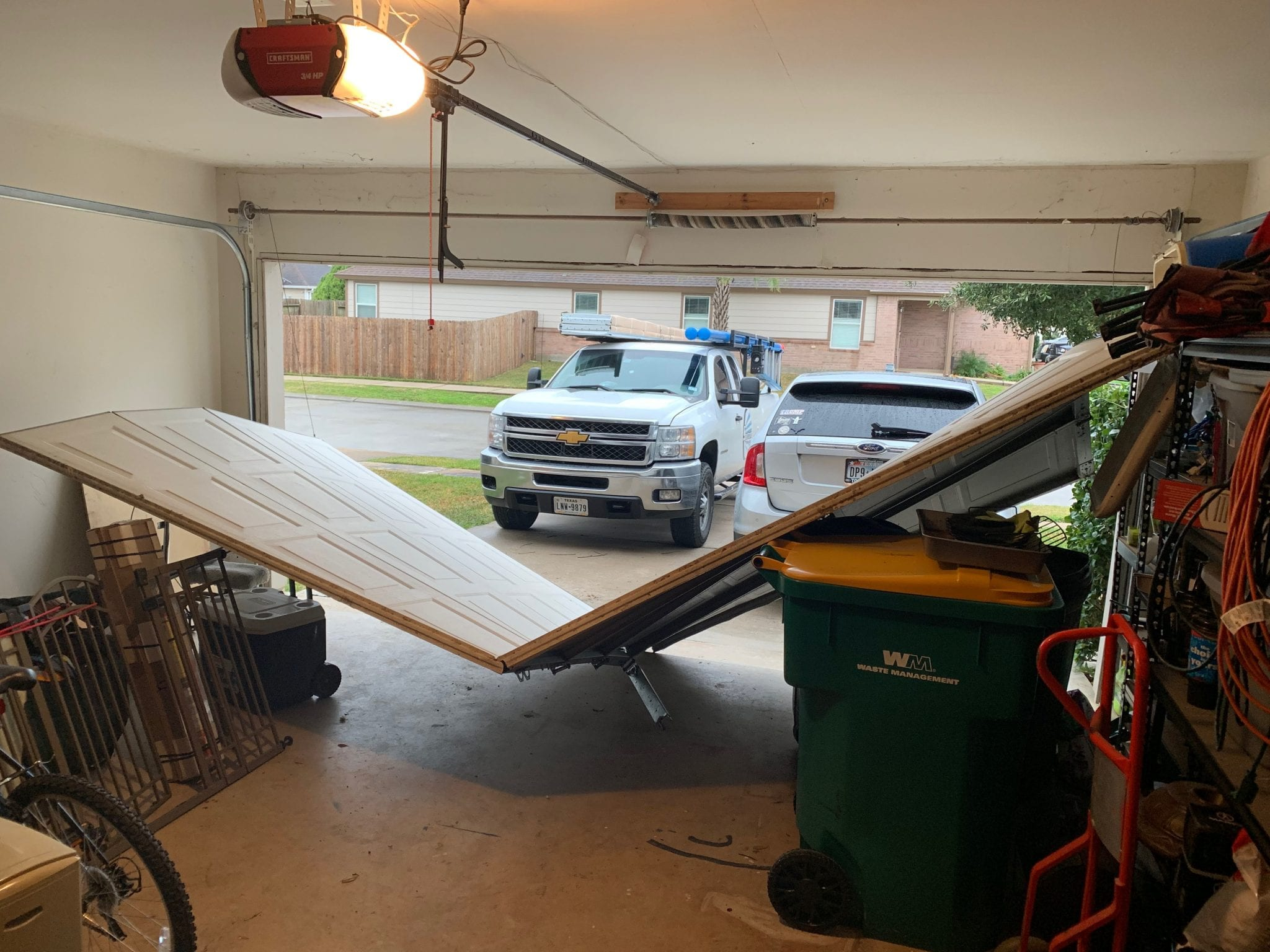 Katy Off Track Garage Door Repair