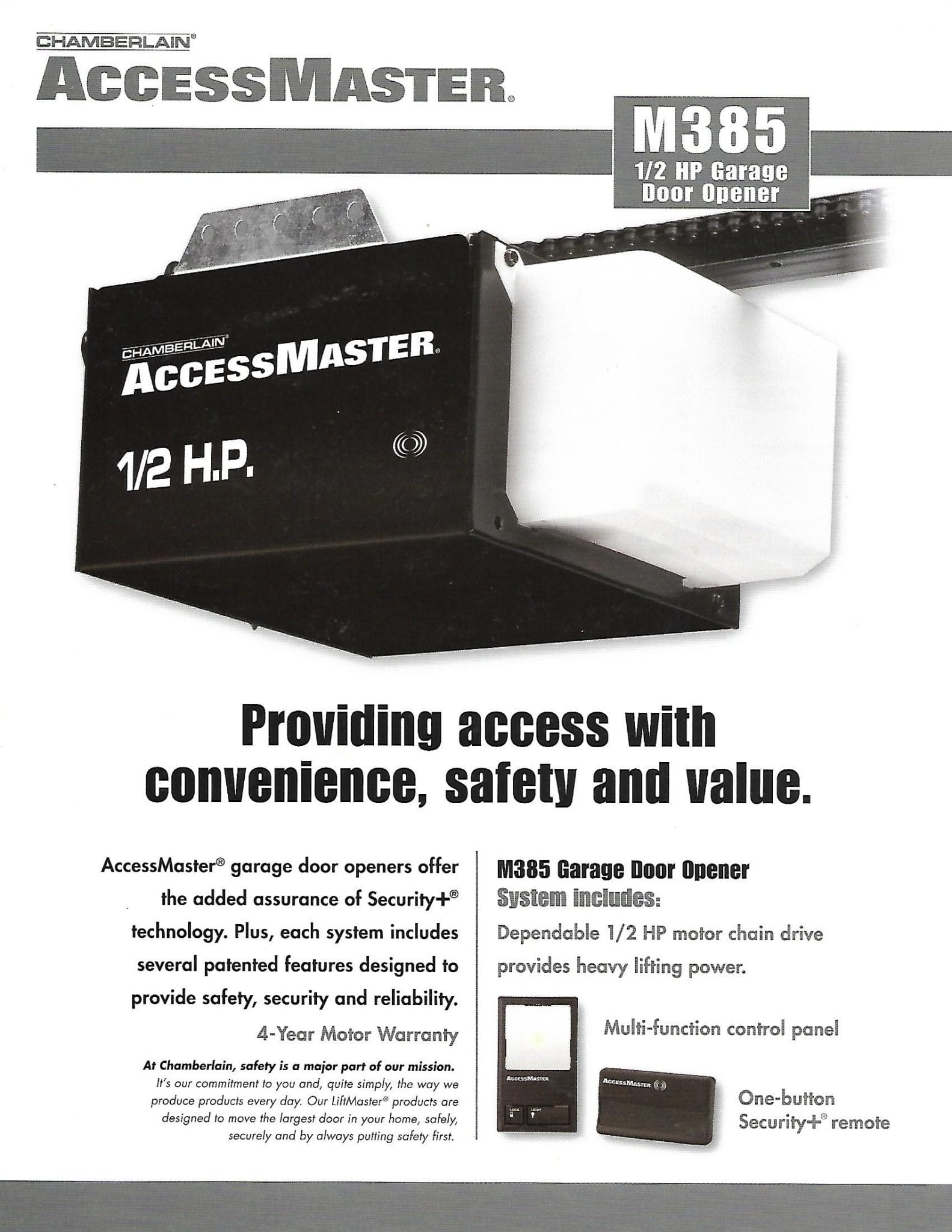 Houston We Install Garage Door Openers Liftmaster Genie