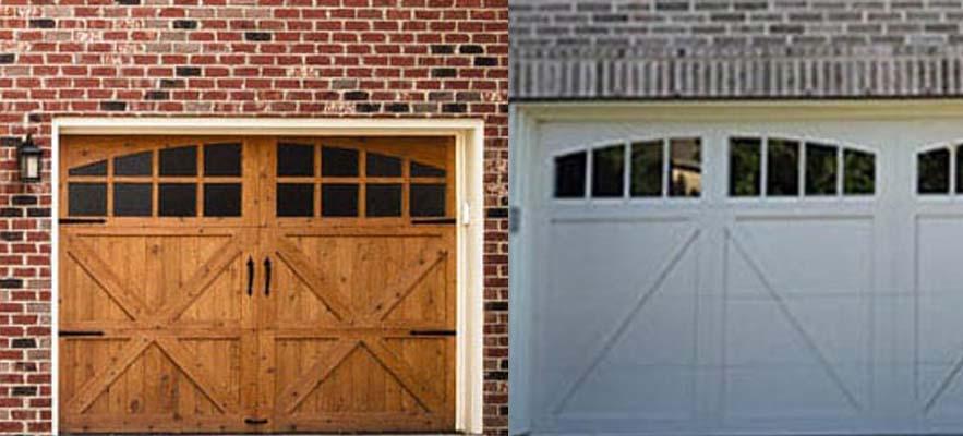 Comparing Wooden and steel Garage Doors