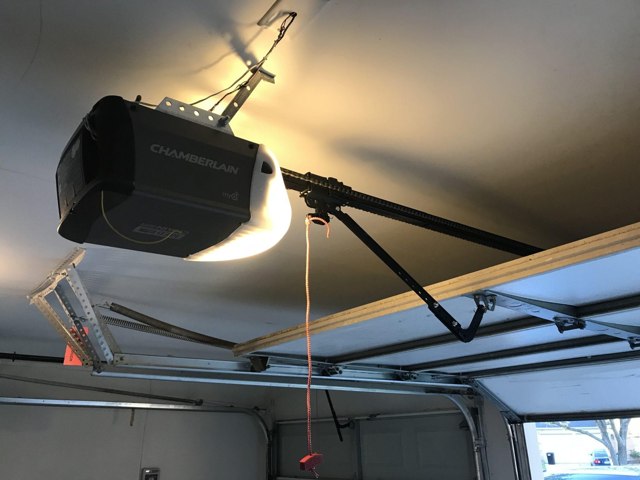 Houston Garage door opener installation