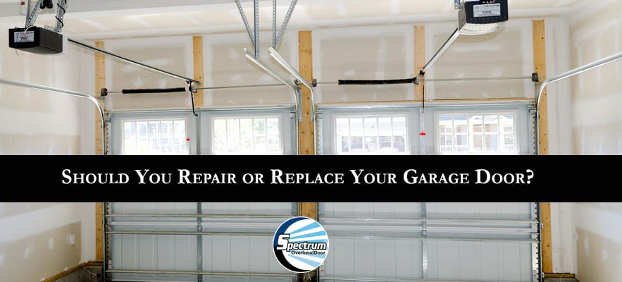 Should You Repair or Replace Your Garage Door?