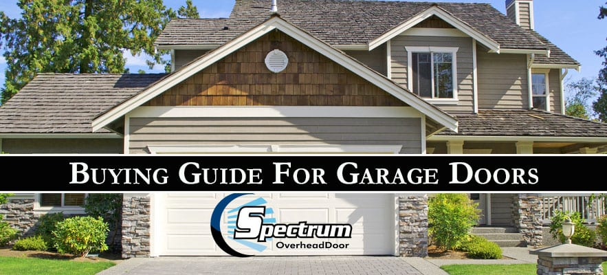 Buying Guide For Garage Doors