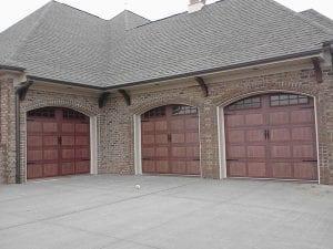 Old style garage doors