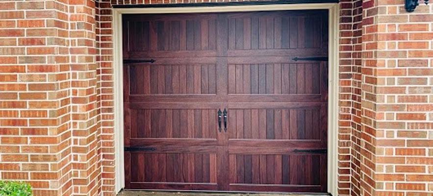 Wooden Garage Door Maintenance