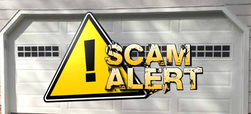 Avoid a Garage Door Scam – 5 Things You need to Know