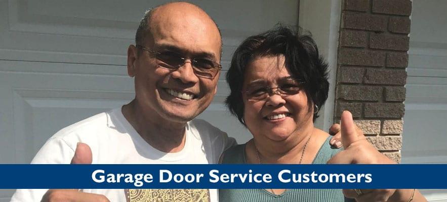 Houston Garage Door Repair Customers