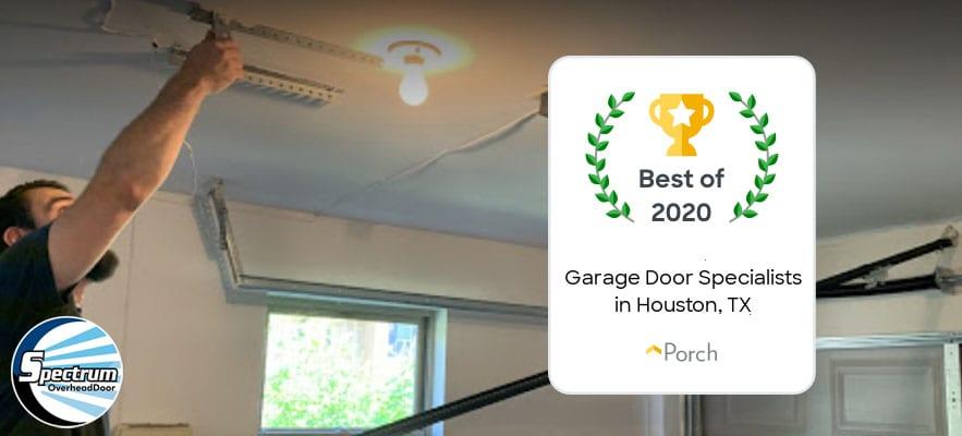 Another Garage Door Service Award For Spectrum