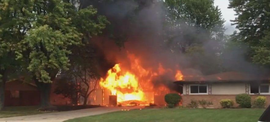 Garage Fire Prevention Tips