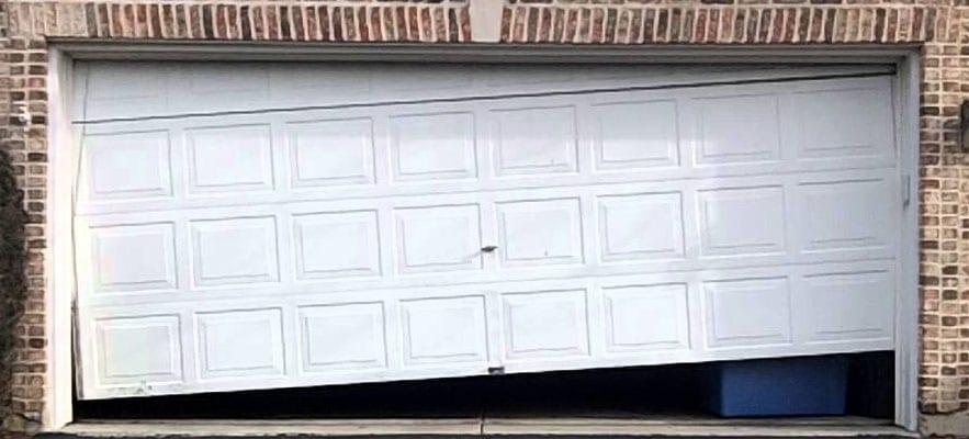 5 causes of garage door damage