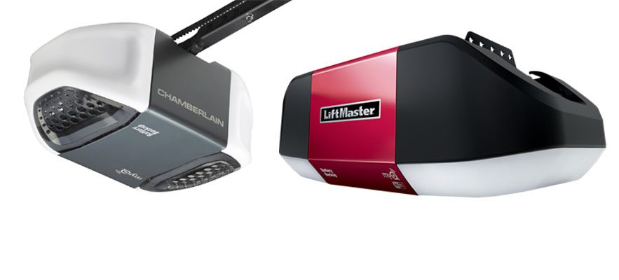 Comparing Liftmaster and Chamberlain Garage Door Openers
